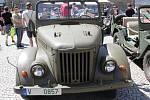 V Příbrami se opět sešli milovníci motorek i nejrůznějších vozidel ke spanilé jízdě po nejkratší Route 66 na světě.