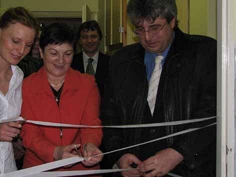 Slavnostní otevření Clubu F ve zdabořském areálu příbramské nemocnice.