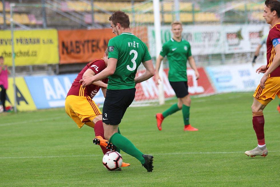 1. FK Příbram - Dukla Praha 3:2.