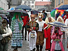 Masopustní maškary v sobotu navštíví jak Hornické muzeum v Příbrami, tak jeho pobočku ve Vysokém Chlumci.