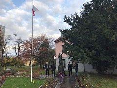 Po slavnostním ceremoniálu se zájemci vydali na setkání čtyř obcí na Čtyřmezí.