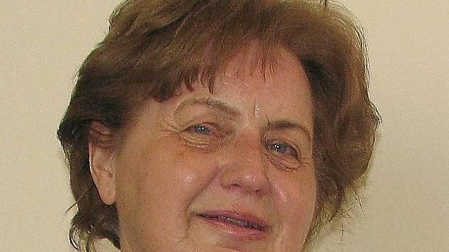 Marie Hrušková, spisovatelka o památných stromech.