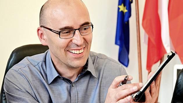 Místostarosta Václav Švenda.