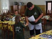 Děti si rybářského tábora užily.