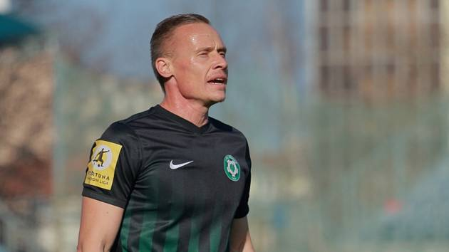 Tomáš Zápotočný v dresu Příbrami.