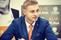 Petr Větrovský, nově zvolený předseda příbramské organizace ČSSD.