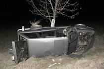 Tragická nehoda řidiče BMW v Dobříšské ulici v Příbrami.