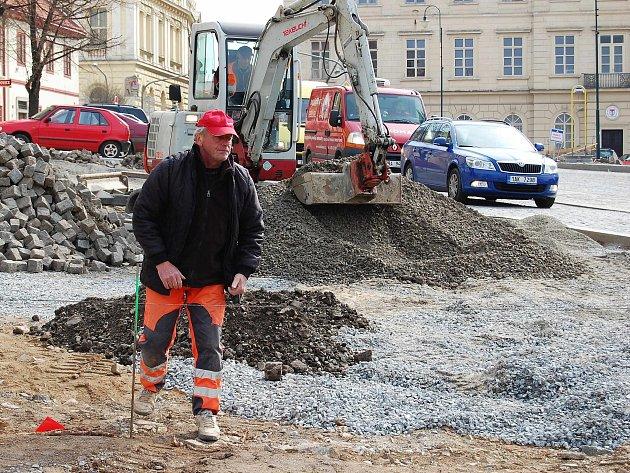 Práce na rekonstrukci náměstí TGM finišují.