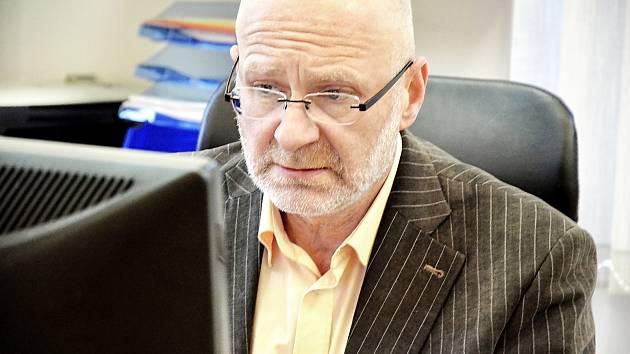 Psychiatr Martin Konečný.