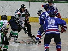 Krajská liga: HC Příbram - Vlašim.