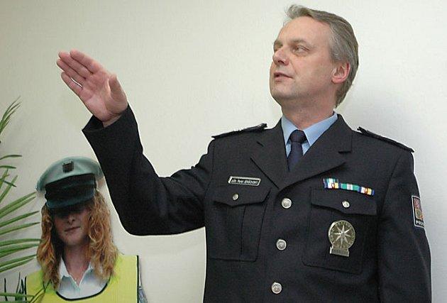 Náměstek středočeského policejního ředitele Pavel Jenšovský