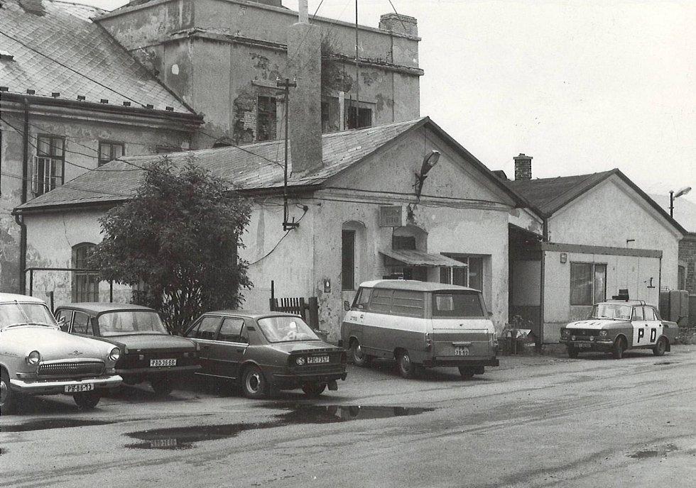 Z historie příbramských hasičů.