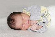 Natálie Kronová se narodila 24. října s váhou 2,82 kg a mírou 50 cm Kateřině a Radomilovi z Příbrami.