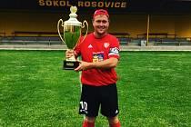 Hráč Rosovic Jan Pinsker.