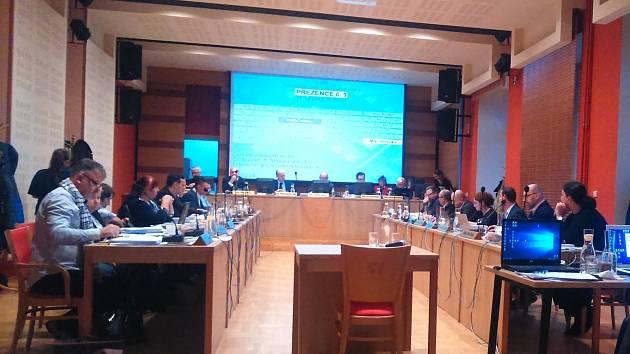 Jednání příbramského zastupitelstva, archivní foto.