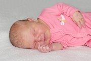 Barbora Jeřábková se narodila 27. října s váhou 4,02 kg a mírou 52 cm Martině a Pavlovi z Měšetic.