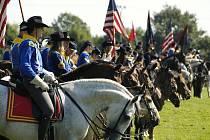 Memoriál generála Custera ve Hněvšíně.