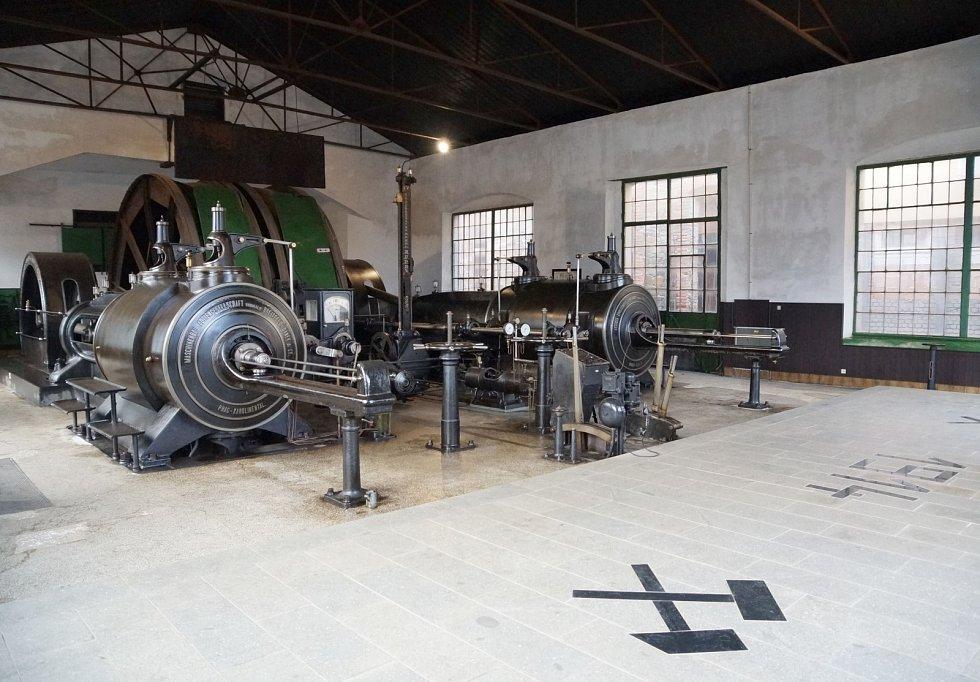Důl Anna - parní stroj.