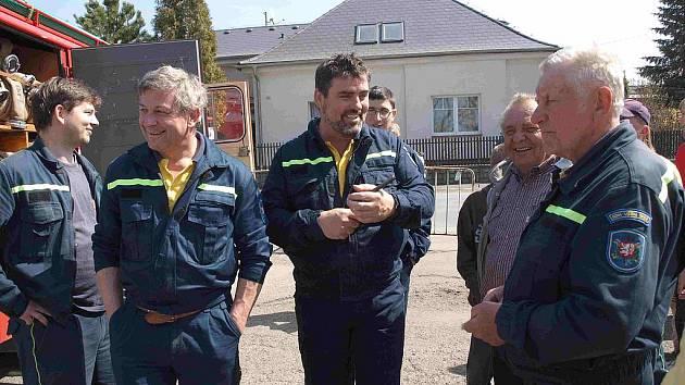 Hasiči v sobotu soutěžili v Rožmitále.