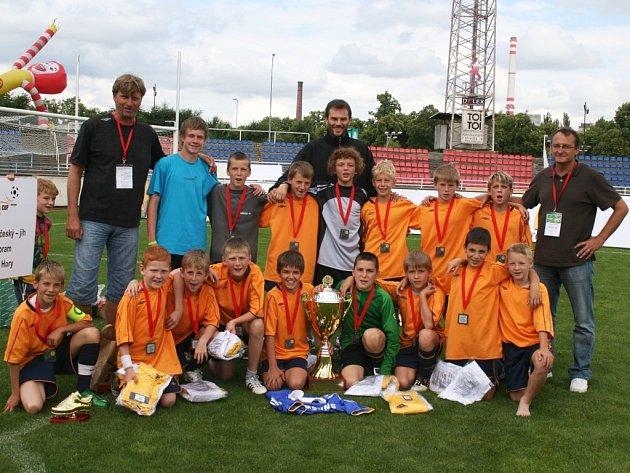 ZŠ Březové Hory - druhý nejlepší tým republiky ve 12. ročníku McDonald´s Cupu 2009.