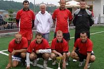 Vítěz XVI. Ligového poháru FAMK: Knockout 83 team.