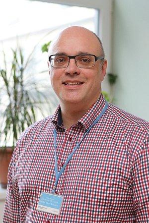 Viktor Kubricht, manažer organizace a kvality zdravotnických procesů vOblastní nemocnici Příbram.