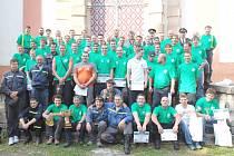 Běh hasičů do Svatohorských schodů 2009