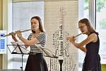 Koncert na hlavní recepci v Oblastní nemocnici v Příbrami v rámci Hudebního festivalu Antonína Dvořáka.