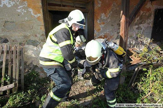 Zásah hasičů na Fire Patrol.