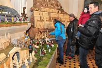 Ještě do neděle můžete navštívit některou výstavu betlémů v Příbrami.