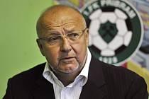 PREZIDENT. S dosavadním průběhem sezony je prezident 1. FK Příbram Jaroslav Starka zatím spokojený a věří, že na jaře jeho tým dotáhne sezonu do úspěšného konce.