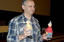 Marek Beneš, režisér animovaných příběhů dvojice sympatických nešiků Pata a Mata.