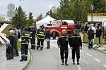 Den hasičů a záchranářů v Příbrami.