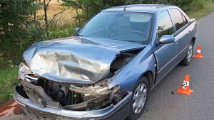 Dopravní nehoda u Dlouhé Lhoty