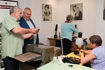 Otevření rukavičkářského muzea