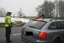 Na Příbramsku se uskutečnila policejní akce zaměřená na viditelnost osádky vozidla.