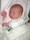 TEREZKA Suchá se prvně ohlásila světu v sobotu 8. října, vážila 2,67 kg a měřila 48 cm. Pečovat o své první děťátko budou maminka Veronika a tatínek Martin z Příbrami.