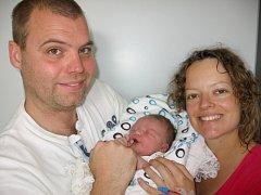 Ve středu 17. července maminka Zuzana a tatínek Ondřej z Rybníků poprvé sevřeli v náručí svého prvorozeného syna Ondřeje Krásu, který má z toho dne u jména zapsánu váhu 4,84 kg a míru 56 cm.