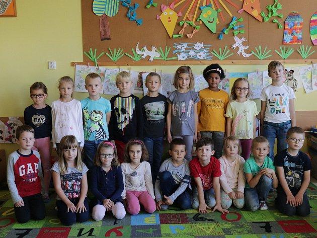 Základní škola pod Svatou Horou vPříbrami: třída 1.B.