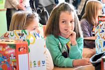 První školní den v Březnici.