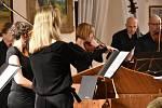 Adventní koncert Musica quinta essentia na březnickém zámku.