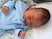 Oliver Kolka se narodil s váhou 4,33 kg a mírou 56 cm Kateřině a Jiřímu z Příbrami.