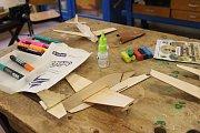 Z krajského přeboru mládeže v plastikovém modelářství v Sedlčanech.