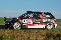 34. Enteria Rally Příbram. Posádka Jan Černý - Pavel Kohout.