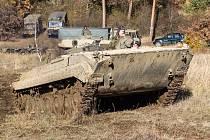 V Jincích sídlící 13. Dělostřelecký pluk využívá k výcviku jízd vojenské techniky a bojových vozidel vedle Hrachoviště i Felbabku.