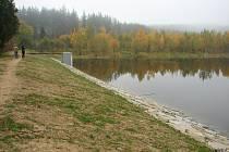 Vokačovský rybník se napouští.