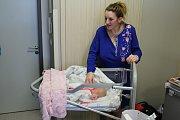 Prvním letošním miminkem na Příbramsku je Justýnka z Nechvalic.