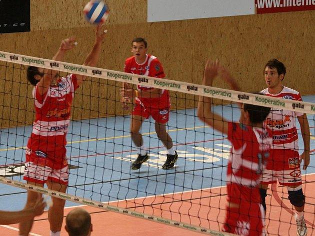Finále turnaje: Příbram - České Budějovice (0:3).
