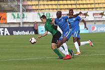 Zápas 6. kola FORTUNA:LIGY 1. FK Příbram - Slovan Liberec 1:3.