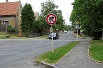 Křižovatka ulic Mariánské a Hornických učňů